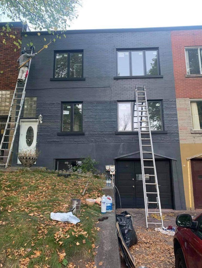 peinture brique apres